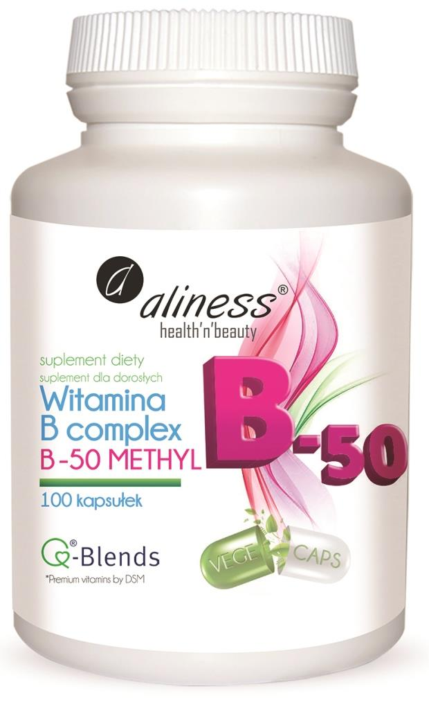 Witamina B50 Complex metyl 100k